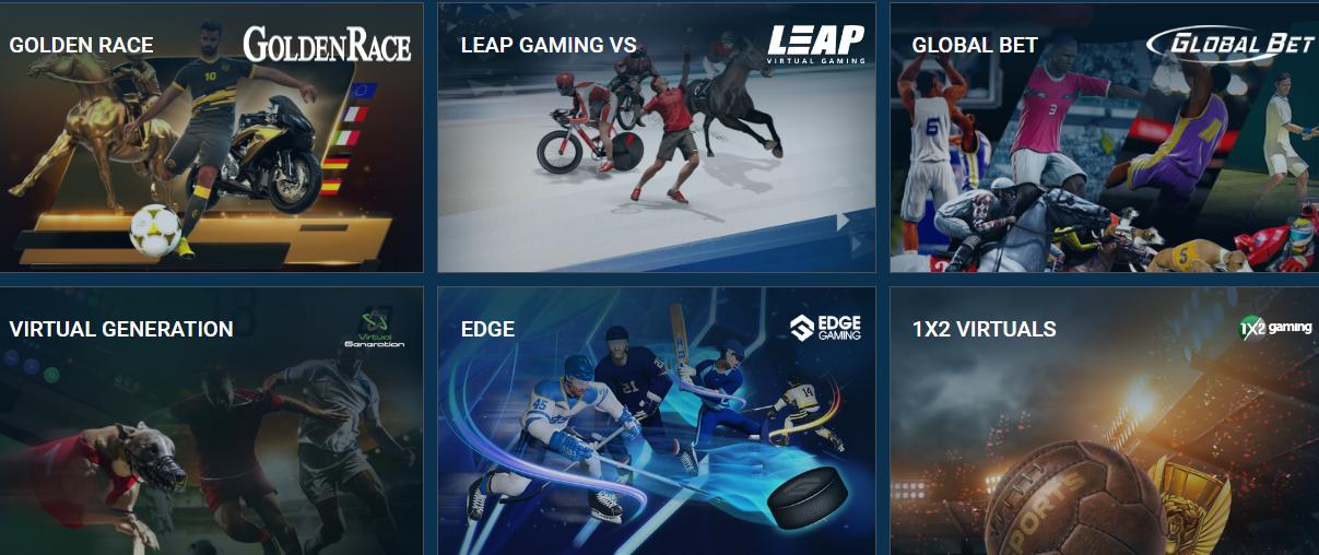 линия виртуальный спорт